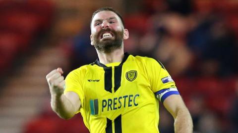 Jake Buxton of Burton Albion