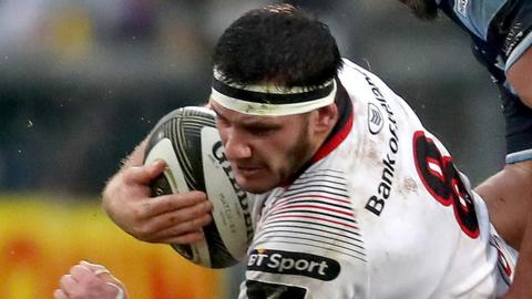 Marcell Coetzee replaces Jordi Murphy in the Ulster back row