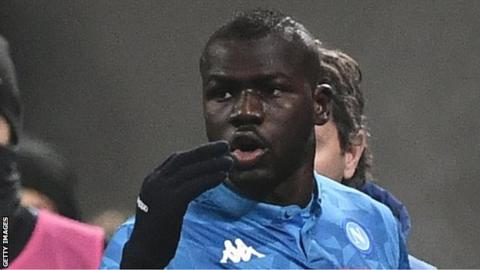 Real Madrid competing with Man Utd for Napoli defender Koulibaly