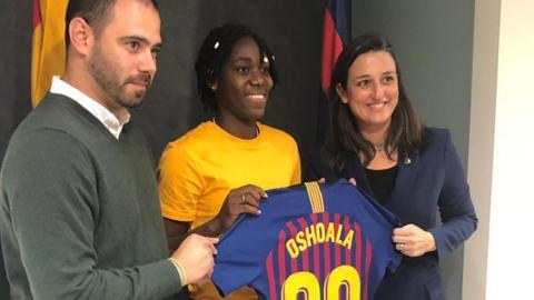 Nigeria forward Asisat Oshoala