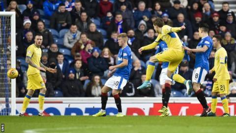 Blair Alston scores