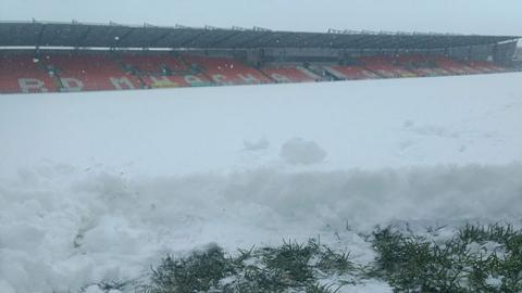 Snowstorm wipes out entire Allianz League programme