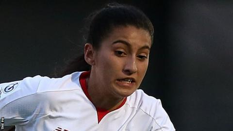 Liverpool Ladies defender Maz Pacheco