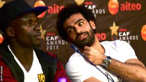 Mohamed Salah wins African footballer award for second time