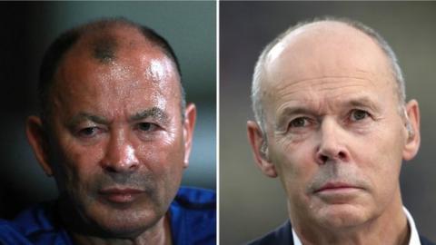 Eddie Jones and Clive Woodward