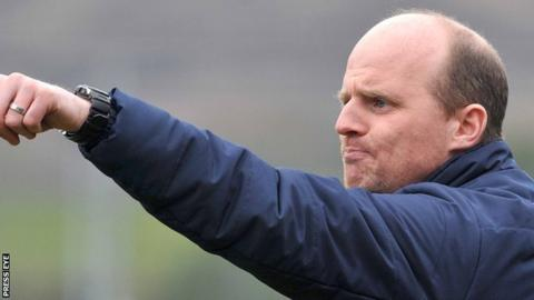 Barry Gray has been named as manager of the month for the first time