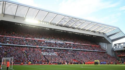 Anfield's Main Stand