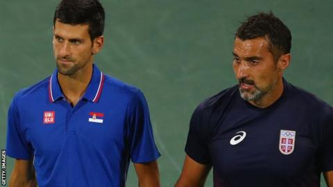 Novak Djokovic & Nenad Zimonjic