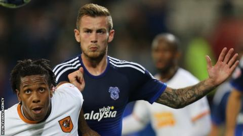 Joe Ralls made his Cardiff debut against Oxford in 2011 in the League Cup