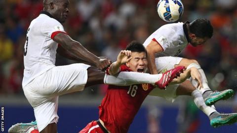 China playing Hong Kong in September