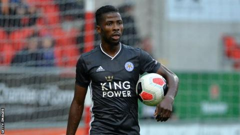 Nigeria and Leicester City's Kelechi Iheanacho