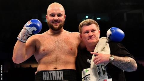 Nathan Gorman and Ricky Hatton