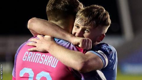 Manchester City U21 celebrate
