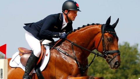 Germany's Michael Jung wins at Rio 2016