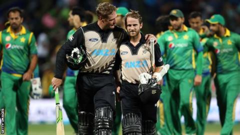 Martin Guptill and Kane Williamson