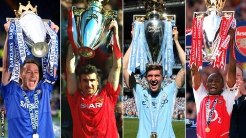33f2d3131 Which title-winning team did you vote as the best in Premier League ...