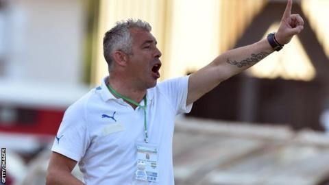Jorge Costa was sacked by Gabon shortly before they hosted this year's Africa Cup of Nations