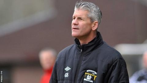 Former Glentoran defender Gary Smyth is in charge of Championship side H&W Welders