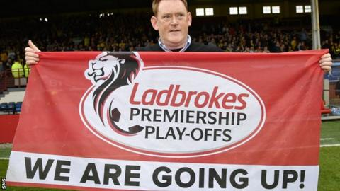 Livingston manager David Hopkin
