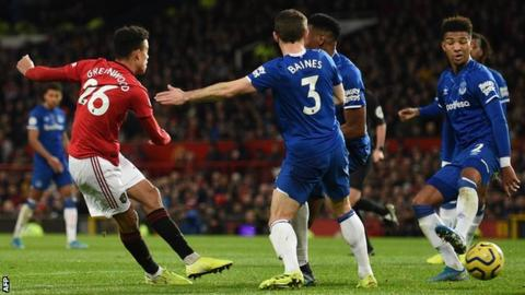 Greenwood salvages contrivance for Man Utd against Everton thumbnail