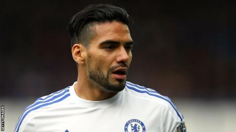 Chelsea striker Radamel Falcao