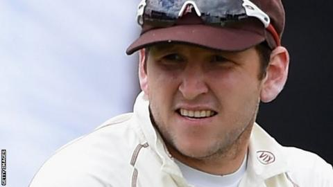 Gary Wilson brought up his 50 off 117 balls, including three fours