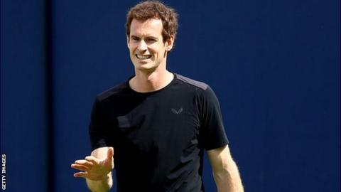 Andy Murray rates his Wimbledon title chances ahead of Queen's campaign