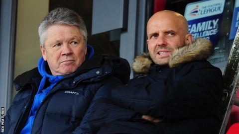 Steve Perryman and Paul Tisdale