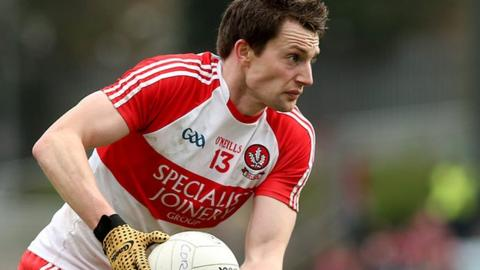 James Kielt came to Derry's rescue with a late point to secure a draw against Clare