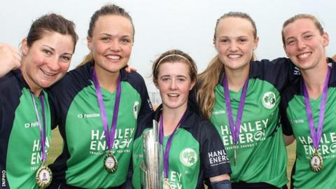 Ireland beat Bangladesh off the last ball in the World Twenty20 Qualifier final in Bangkok