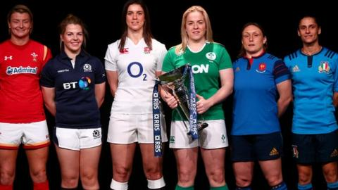 The captains for the Women's Six Nations teams