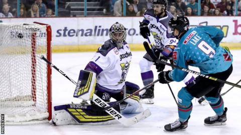 Belfast Giants: Adam Keefe's side suffer shootout loss to Storm