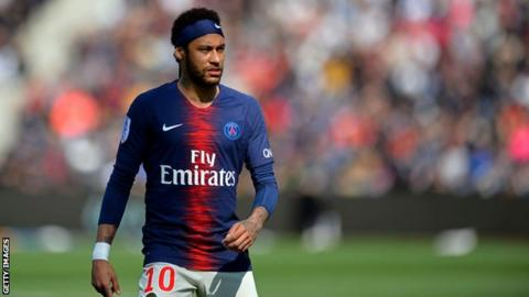 Barcelona submit £153m offer for Paris Saint-Germain star Neymar
