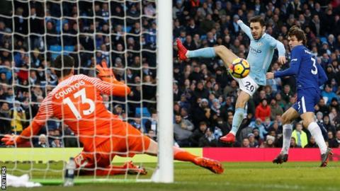 Bernardo Silva scores