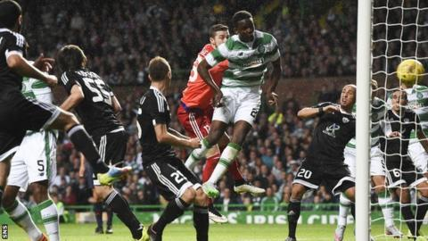 Dedryck Boyata grabbed his second goal since signing for Celtic with a late header