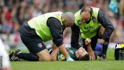 Report Reveals Rise In English Injury Severity Since Jones Appointment