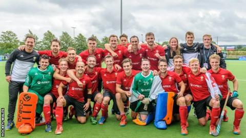 Team Wales men's hockey team