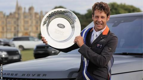 Burghley Horse Trials Australian Chris Burton Wins