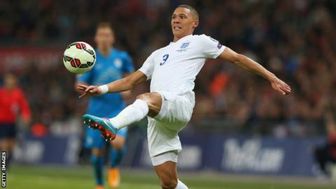 Kieran Gibbs has played 10 times for England
