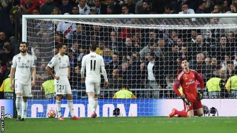 Real Madrid's defeat to Ajax