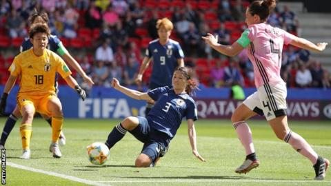 Scotland lost to Japan in Rennes