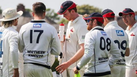 The Northern Knights were unable to pres home their advantage against Leinster Lightning