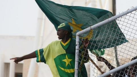 Mauritania fans will support their men's team at a Nations Cup for the first time in June
