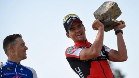 Paris-Roubaix  Greg van Avermaet wins first  monument  title - BBC Sport 08cba1180