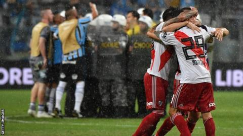 Boca Juniors and River Plate in Libertadores final
