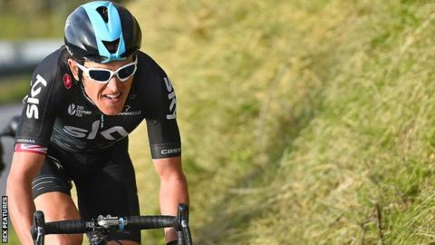 Geraint Thomas of Team Sky