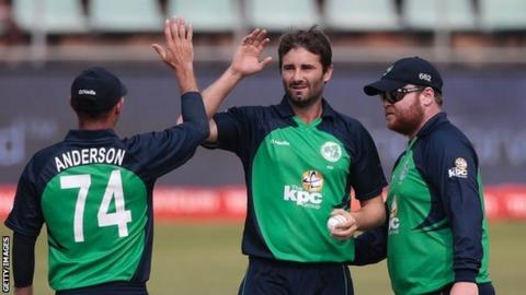 Ireland's Tim Murtagh has taken 39 wickets in international matches for his country