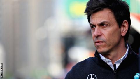 Mercedes motorsport CEO Toto Wolff