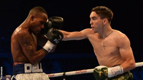 Michael Conlan was the more aggressive fighter in his homecoming bout against Adeilson Dos Santos