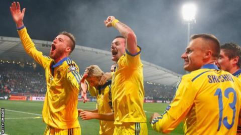 Ukraine reach Euro 2016